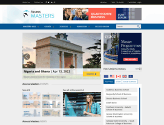 accessmasterstour.com screenshot