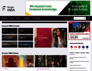 accessmba.com screenshot