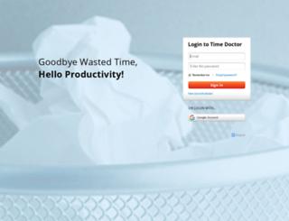 accessnova.timedoctor.com screenshot