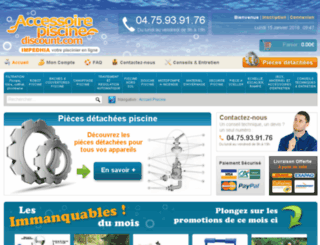 accessoire-piscine-discount.com screenshot