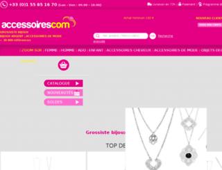 accessoirescom.com screenshot