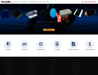 accessory.fingertec.com screenshot