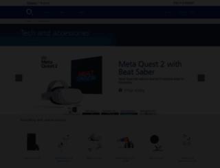 accessoryshop.o2.co.uk screenshot