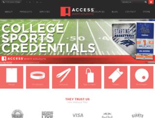 accesspasses.com screenshot