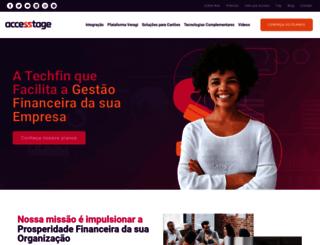 accesstage.com.br screenshot