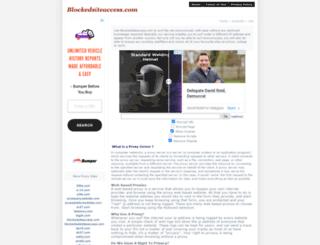 accesstoblockedsites.com screenshot