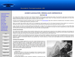 accident-compensation-information.co.uk screenshot