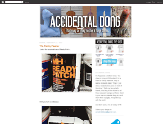 accidentaldong.blogspot.com screenshot