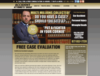 accidentattorneysgroup.com screenshot