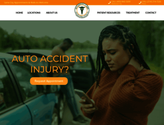 accidentcare.info screenshot