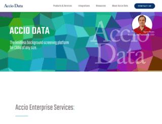 acciodata.com screenshot