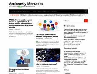 accionesymercados.com.ar screenshot
