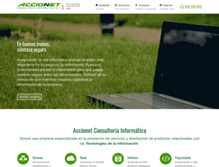accionet.com screenshot