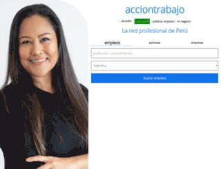 acciontrabajo.com.pe screenshot