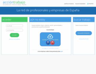 acciontrabajo.es screenshot