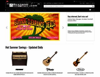 acclaim-music.com screenshot