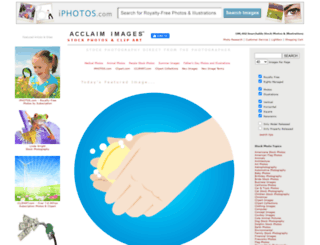 acclaimimages.com screenshot
