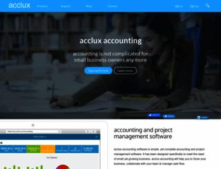 acclux.com screenshot