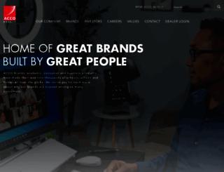 accobrands.com screenshot