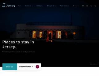 accommodation.jersey.com screenshot