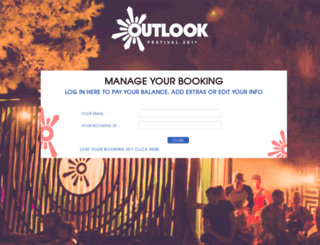 accommodation.outlookfestival.com screenshot