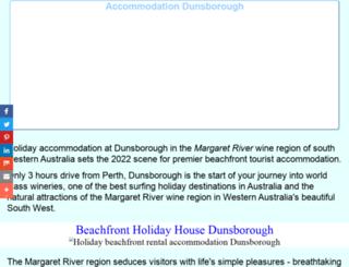 accommodationperth.info screenshot