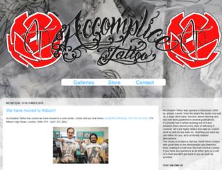 accomplicetattoo.blogspot.com screenshot