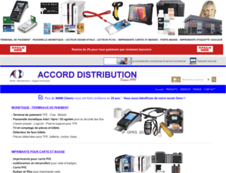 accord-distribution.com screenshot