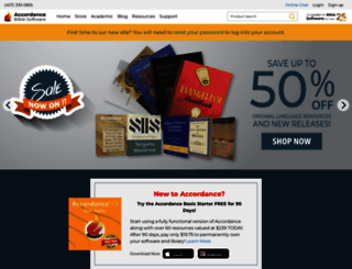 accordancebible.com screenshot