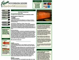 accordion-door.com screenshot