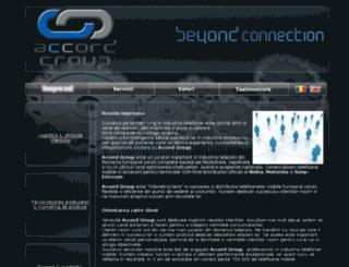 accordmobile.ro screenshot