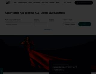 accorhotels.com.au screenshot