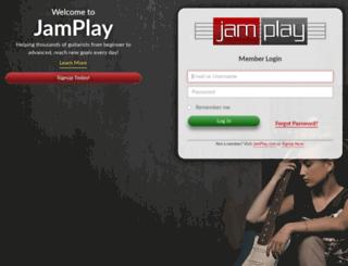 account.jamplay.com screenshot