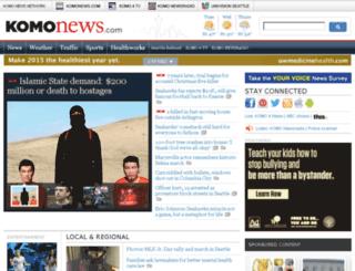 account.komonews.com screenshot