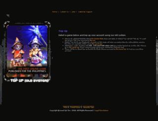 account.levelupgames.ph screenshot
