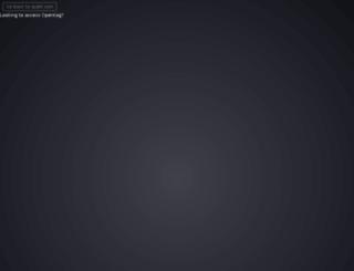 account.qubitproducts.com screenshot