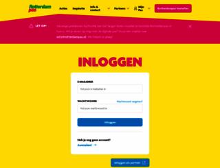 account.rotterdampas.nl screenshot