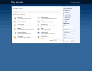 account.slicenetworks.com screenshot