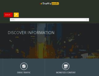 account.trafficpedic.com screenshot