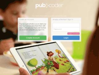 account1897.pubcoder.com screenshot