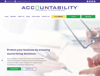 accountability.co.za screenshot