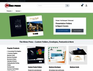 accountant.minespress.com screenshot
