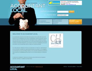 accountantlocal.co.uk screenshot