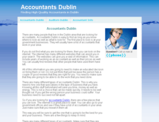 accountants-dublin.com screenshot