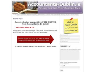 accountants-dublin.ie screenshot