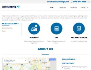 accountantsnj.net screenshot