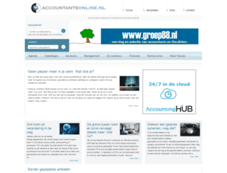 accountantsonline.nl screenshot