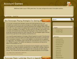 accountgames.net screenshot