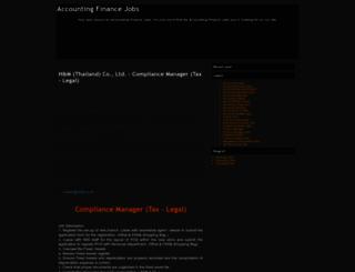 accounting-finance-job-s.blogspot.com screenshot