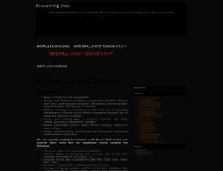 accounting-job-s.blogspot.com screenshot